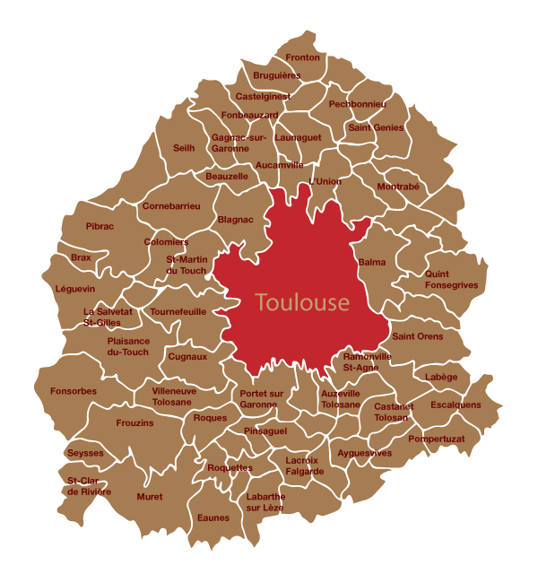Toulouse Communes